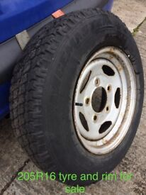 205R16 JEEP TYRE FOR SALE