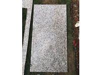 Granite Worktop. Black, White & Grey Speck. Good condition.