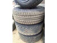 "Avalini Alloy Wheels 15""inch. VAUXHALL Corsa Volkswagen Polo Ford Fiesta"