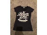 Ladies women's Superdry tshirt size xsmall