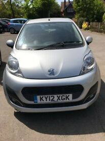 Low Mileage, Zero Tax, Peugeot 107, Great Condition and Economical to Run!