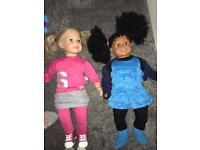 Toddler dolls Approx 60cm