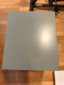 Fashionable green ikea bed side table (2 available) Perfect condition.