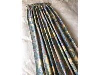 """64"""" DROP POLYESTER/COTTON LINED CURTAINS"""
