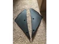 Inside left right Fairing trim Zx6r 2005 2006 ninja c1h Kawasaki