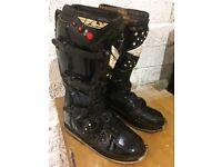 Motorcross/ enduro boots size 8