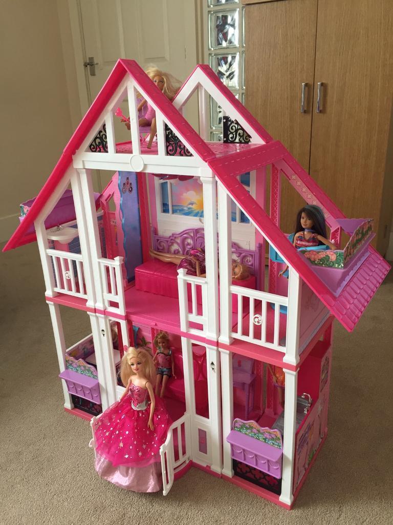 Barbie california dream house in countesthorpe for California dream house