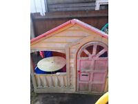 FREE GARDEN PLAY HOUSE