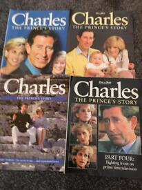 Booklets about Prince Charles