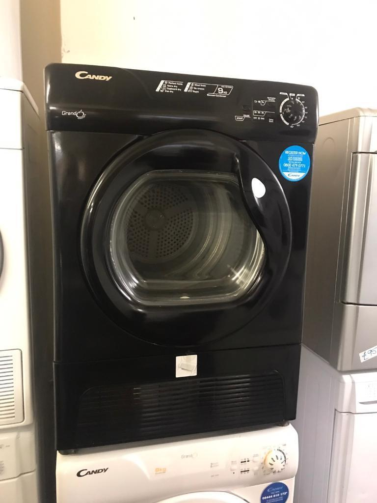 9KG BLACK. HOOVER CONDENSER DRYER - PLANET 🌎 APPLIANCE