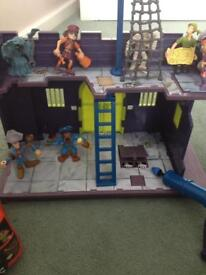 Scooby doo pirate set
