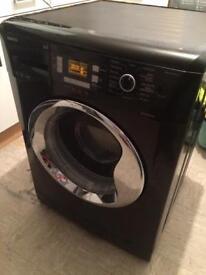Beko Washing Machine WMB91242LB 9KG in black digital