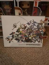 Overwatch collectors book