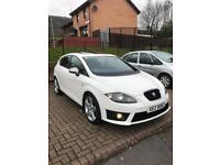 SEAT LEON FR 170 WHITE SUNROOF FULL SERVICE HISTORY
