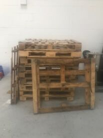 Free pallets for fire wood