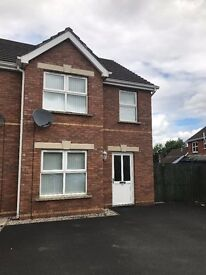 Modern 3 Bedroom End Townhouse available to rent