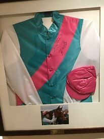 Juddmont signed silks