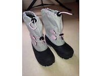 Children's Snow boots UK 1 EUR 33