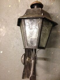 Exterior decorative wall lamp for Sale