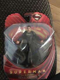Superman with black suit