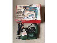 Tronic Hammer Drill TSB 650 corded with spirit level. Rotary. Never used.