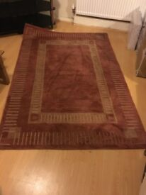 Wool rug excellent quality cost £300 new!!!