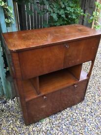Perfect Upcycle Retro Vintage Bar or Bureau