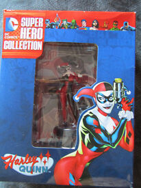 BEST OF DC SUPER HERO FIGURINE COLLECTION #5 HARLEY QUINN FIGURINE