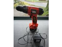 BLACK & DECKER A9252 12v RECHARGEABLE DRILL