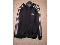 Black Adidas mens jacket size Medium