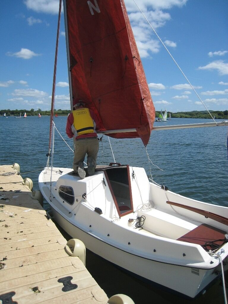West Wight Potter 15 Classic Trailer Sailer Well Cared