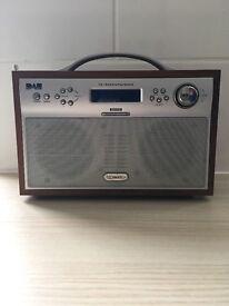 Technika Dab/FM Digital Radio DAB-206