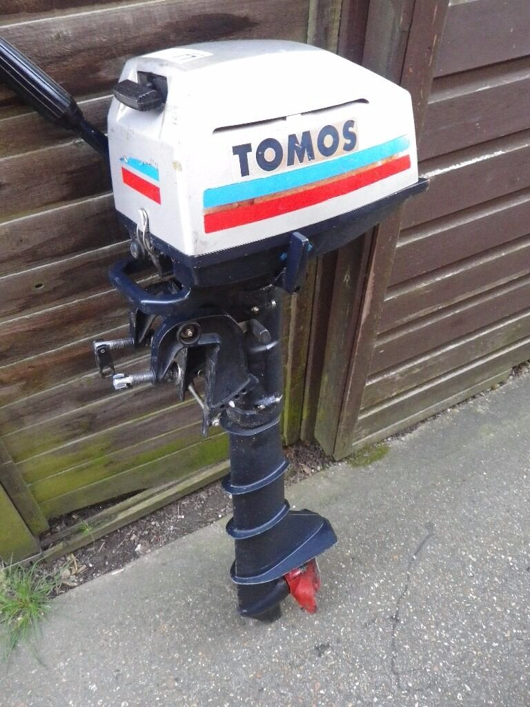 Tomos outboard air cooled boat engine in eastleigh for 10 hp outboard jet motor
