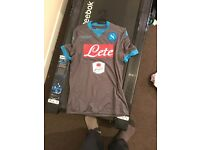 SSC NAPOLI AUTHENTIC AWAY SHIRT