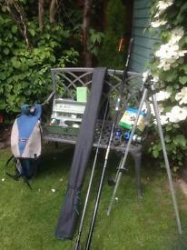 Fishing rod and equipment