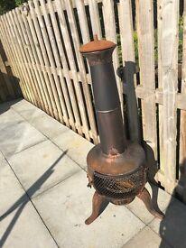 Outside burner/oven