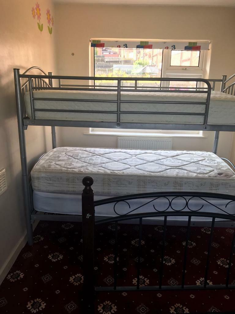 Bunk bed for salein Bolton, ManchesterGumtree - Bunk bed for saleVery good condition and very well looked after. Comes with two mattresses. Collection Only from Bolton BL3
