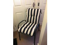 Blooma Colorado Pair Of Quality Garden/Patio Chairs With Cushions New