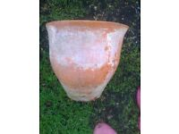 TERRACOTTA GARDEN POT BELL SHAPED