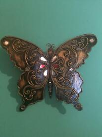 Hand made wooden Butterfly from Thailand