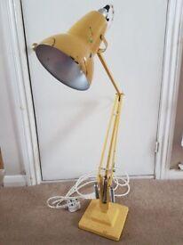 Vintage Herbert Terry Anglepoise Lamp. Rewired & New Bulb Holder, Ex Artist's