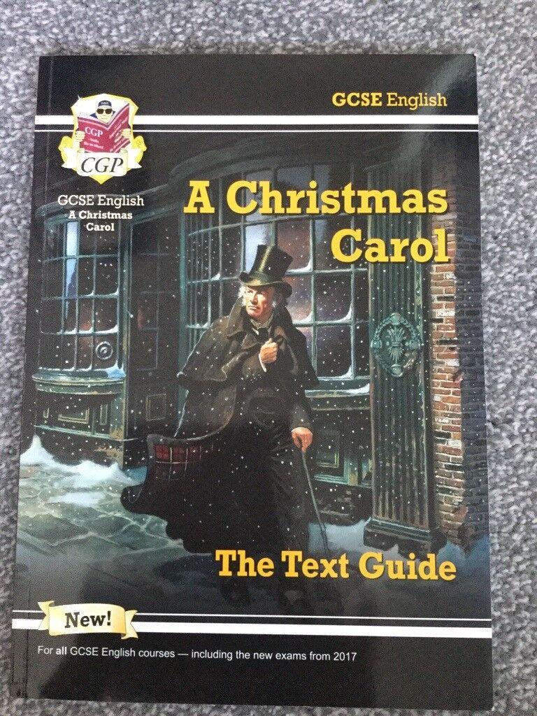 Christmas Carol Text Guide.Gcse English Text Guide For A Christmas Carol And Of Mice And Men In Huddersfield West Yorkshire Gumtree