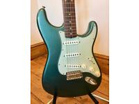 Fender American Vintage '59 Reissue' Stratocaster (AVRI) - Sherwood Green - Candy - Courier