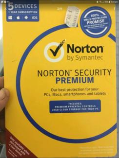 Nortons antivirus 5 devices