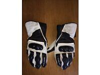 Frank Thomas men's motorcycle gloves Large
