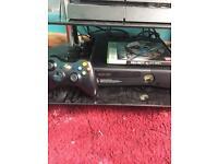 Xbox 360 slim 250 gb bargain &bo2 4 games