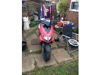 Honda xr8 50cc moped