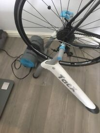 Raleigh Revenio 3, carbon forks, very little used, also TACX turbo trainer,, again little used.