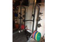 Bodymax CF470 Half Rack, Power rack, cage. Plus Dip Bars. Perfect for home gym
