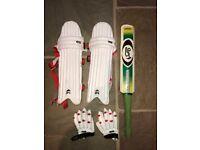 Childrens cricket kit